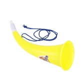 1Pcs Toy Trumpet in plastica con cordino portatile Cheer Up Horn per eventi sportivi e party Atmosphere Making