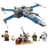 Set di blocchi di costruzione X-Wing Fighter di Star Wars Series LEPIN 05029 740pcs