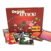 Organ Attack Table Games Playing Card