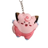Pocket Monsters 3D Pokemon Cartoon portachiavi in ​​PVC