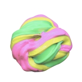 DIY Soft Fluffy Floam Slime Scented Stress Relief No Borax Sludge Cotton Mud Release Clay Toy Plasticine for Kids and Adults Multicolor 1