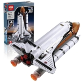 Scatola originale LEPIN 16014 serie di film 1230pcs Space Shuttle Expedition modello Building Blocks Kit di mattoni
