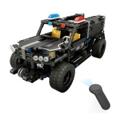 BB13006 431PCS DIY Special Police Car