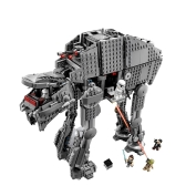 LEPIN 05130 1541pcs Star War Series The First Order Heavy Assault Walker Building Blocks Kit Set - Plastic Bag Package