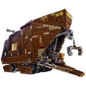 Scatola originale LEPIN 05038 3346pcs Set di blocchi di costruzione di Star Wars Sandcrawler