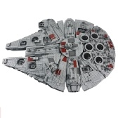 LEPIN 05033 5265pcs Set di serie di blocchi di costruzione Millennium Falcon di Star Wars Series Ultimate Collector