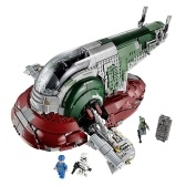 LEPIN 05037 2067pcs Star Wars Series Slave I Building Blocks Kit Set - Plastic Bag Package