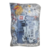LEPIN 05043 2127pcs Star Wars Series The R2-D2 Robot Set Star Wars Building blocks Kit - Plastic Bag Package