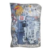 LEPIN 05043 2127szt. Seria Star Wars Zestaw robota R2-D2 Zestaw klocków Star Wars - pakiet plastikowych toreb