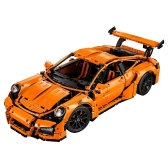 LEPIN 20001 2758pcs Technic Series Porsche 911 GT3 RS Race Car Model Building Blocks Bricks Kit - Paquete de bolsas de plástico