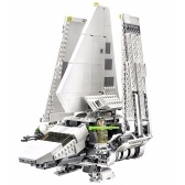 LEPIN 05034 2503pcs Set di kit di tasselli Imperial Shuttle serie Star Wars