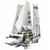 LEPIN 05034 2503pcsスターウォーズシリーズインペリアルシャトルビルディングブロックキットセット