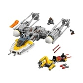 LEPIN 05065 691pcs Star Wars Series Y-Wing Starfighter Building Blocks Kit Set - Plastic Bag Package