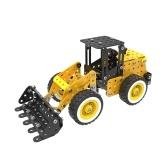 332Pcsオートローダインテリジェントな建設セット3Dステンレス鋼モデルキットDIYギフトモデルビルディング教育おもちゃ