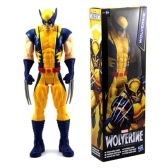 "X-Men Wolverine Marvel Titan Hero Series Action Figure Avenger 12 ""Toy"