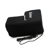 Huge Enter Key Pillow Stress Punch Bag for Desktop PC Washable Removeble Unbreakable Cushion