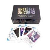 Unstable Unicorns Baseゲームボード面白いカード