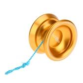 Profesjonalne Magia Yoyo T8 Aluminium Metal Yoyo 8 Ball Bearing KK sznurkiem dla dzieci Złoto