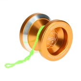 Professional Magic Yoyo N8 Aluminum Alloy Metal Yoyo 8 Ball KK Bearing with Spinning String for Kids Gold