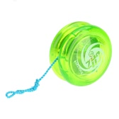 Magic Yoyo D1 Poly Carbonate Plastic Loop Yo-yo Narrow Plain Shaft Star Burst System with Spinning String for Kids