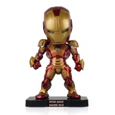 Iron Man 3 Ironman Rysunek z lekkim rysunek Rysunek Toy Movie Rysunek Collectible Action Rysunek Toy