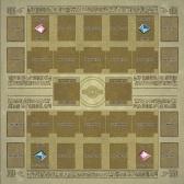 Karciana gra 60 * 60cm gumowa podkładka do gry Dennis World Type Pad dla Yu-gi-oh Card
