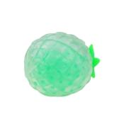 Spremere la palla appiccicosa del branello del giocattolo di sforzo appiccicoso Spremere l'ananas rosso del mitra