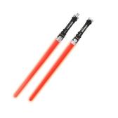 2 piezas Star Wars Laser Sword Cosplay Prop Shine sonido y luz niños al aire libre Luminoso Juguete intermitente de regalo