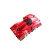 LEDライトマジックウォールフロアクライマークライミングレーサーRCスポーツレーシングカーとのリモートコントロール車のおもちゃ子供のための反重力ミニスタントカーマシンの自動ギフト(赤)