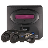 Sega Mega Drive 2 Videogiochi Console 16 bit Retro Handheld Game Player 5 Giochi all