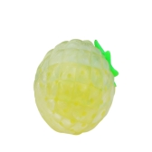 Apretón Sticky Stress Toy Bead Ball Sticky Squeezing Ananas Reliever Red