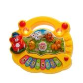 Coolplay bebé niño de los cabritos musical Animal Granja Educativa Piano electrónico de la música del teclado de juguete niños Desarrollo