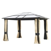 Patio Baldachin Gazebo Outsunny® 12