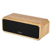 A1 Bamboo Bluetooth CSR 4.0 + EDR Speaker w / MIC