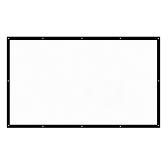 H150 pliable 16: 9 écran de projection portable de 150 pouces