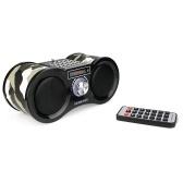 Retekess V113 FM Radio Stereo Digital Radio Receiver Super Bass 1.6W*2 Speaker AUX-IN USB Disk TF Card MP3 Music Player with Remote Control