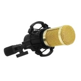 BM800 Condenser Microphone Portable High Sensitivity Low Noise Mic Kit for Computer Mobile Phone Studio Live Stream Broadcasting Recording