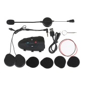EJEAS Eagle 2 Rider Interphone Ciclismo BT Vivavoce Citofono Cuffia casco 1200 M Intercom Duplex Full Talking Radio FM