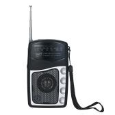 Портативный карманный радиоприемник Настройка FM / AM Радиоприемник Встроенный динамик Телескопическая антенна Зажим для радио Поддержка наушников