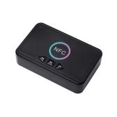 NFC Bluetooth 5.0 Приемник Беспроводной аудиоресивер Адаптер с микрофоном RCA AUX Out U Диск Воспроизведение музыки для наушников Динамик Домашняя аудиосистема