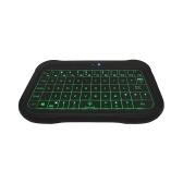 T18 2.4G мини беспроводная клавиатура с подсветкой воздушная мышь с полной сенсорной панелью умный пульт дистанционного управления для Android TV Box ПК проектор