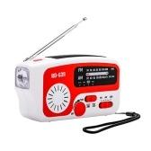 RD-639 AM/FM Emergency Radio Hand Crank Radio Portable Solar Radios