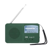 RD369 Solar Energy FM AM Dual Band Radio