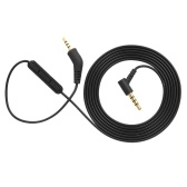 3,5 mm bis 2,5 mm Audiokabel für BOSE QC3 mit Mikrofon-Lautstärkeregler Line-Control Kopfhörerkabel Line