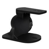 3 Pairs Speaker Mount Universal Wall Mount Speaker Bracket 7lb Capacity Swivel Tilt with Fitting Hardware