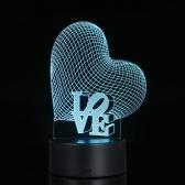 Прозрачная акриловая лампа ночного видения для 3D иллюзий