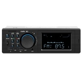 SWM M2 Bluetooth Car Stereo Car Audio FM Radio 60W Output MP3 Player Support USB TF Card Slot 3.5mm AUX Hands-free Call with Mic Wireless Remote Control