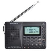 HRD-603 Portable Radio AM/FM/SW/BT/TF Pocket Radio USB MP3 Digital Recorder Support TF Card Bluetooth
