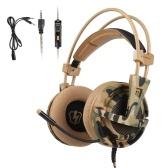 LETTON L1 3,5-mm-Gaming-Headset Stereo-Over-Ear-Kopfhörer mit einstellbarem Mikrofon für PC-Laptop-Smartphones