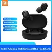 Xiaomi Redmi AirDots 2 TWS Auriculares inalámbricos BT5.0 Reducción automática de ruido de enlace
